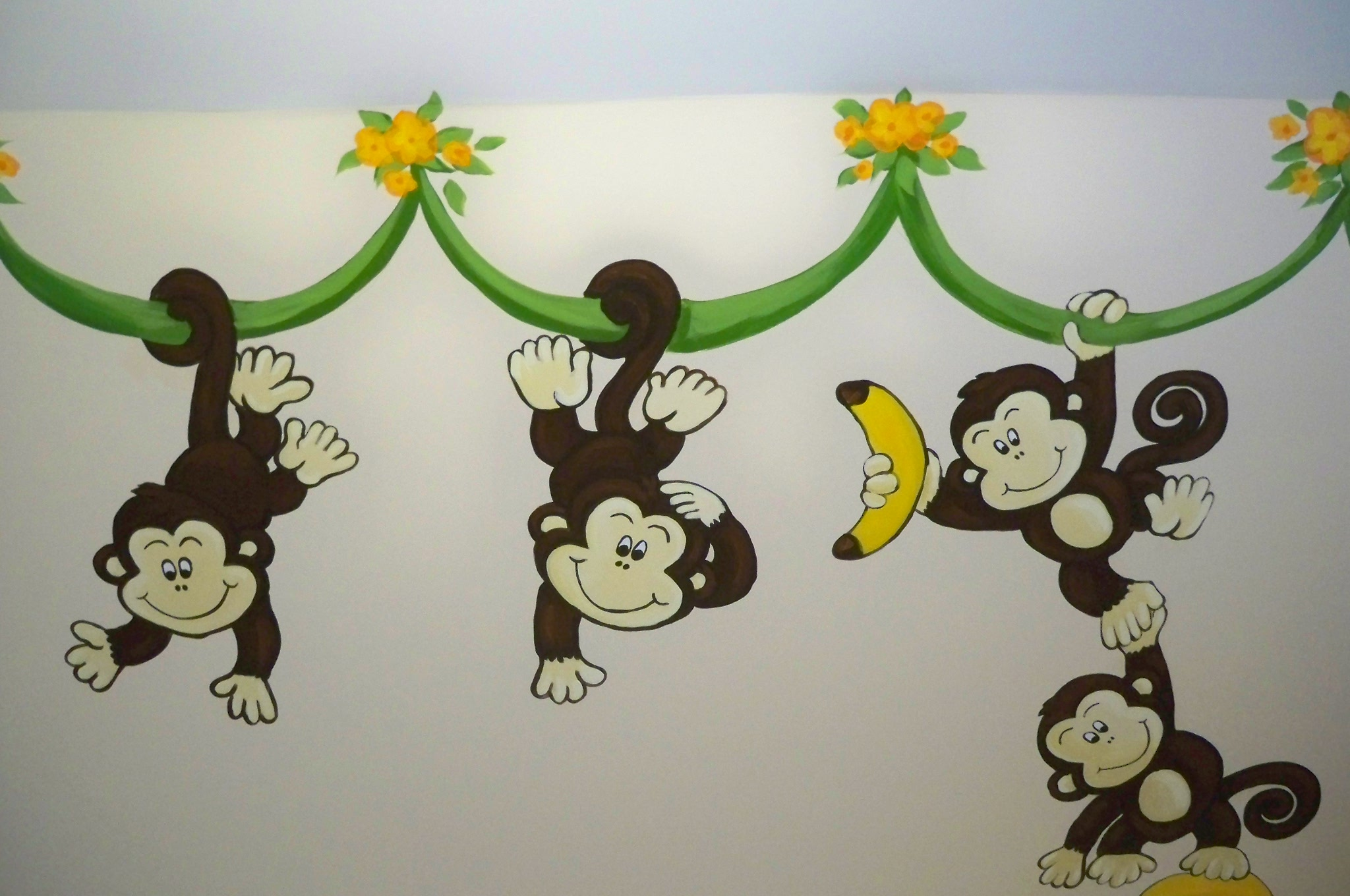 Murals By Marg Many Monkeys Nursery Mural 1.JPG