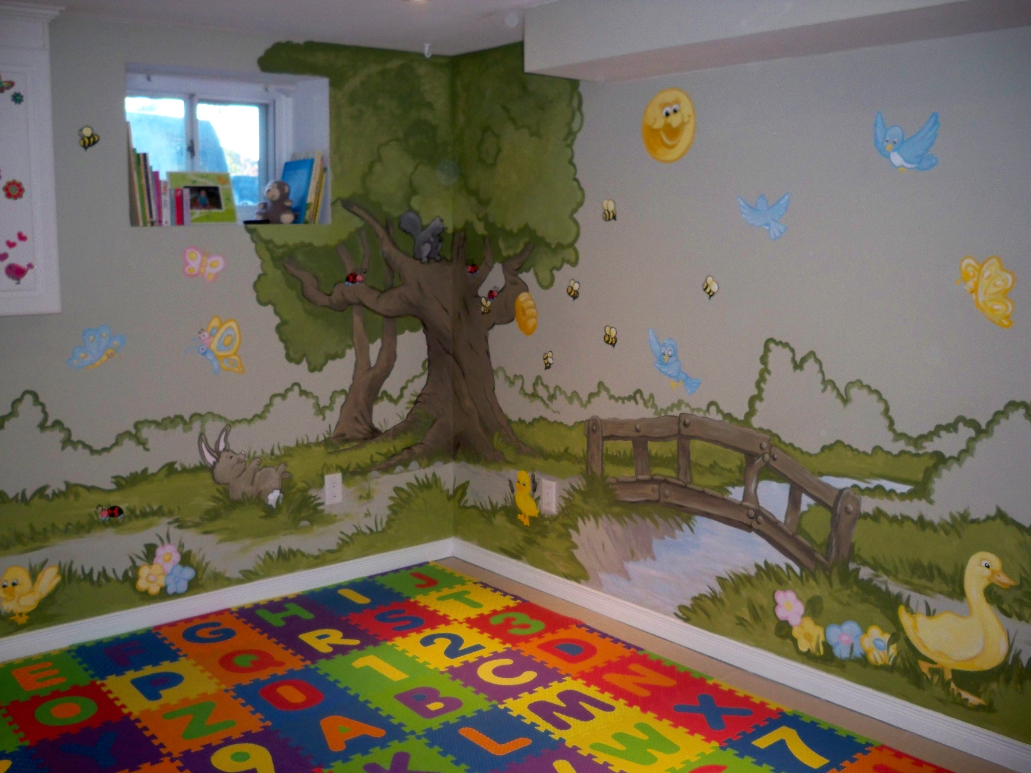 Murals By Marg Genevieve's Playroom Mural 7.JPG