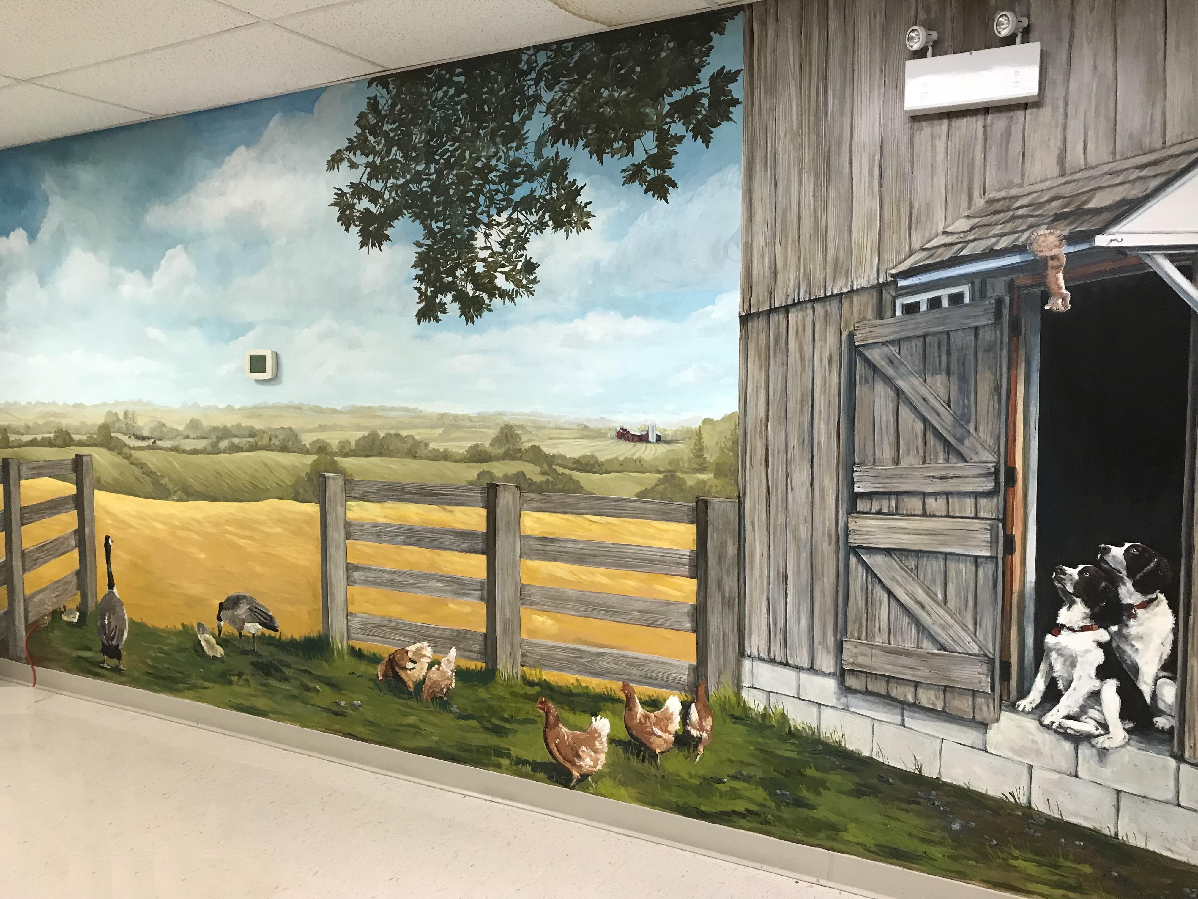Murals By Marg -- Farm life Cargill