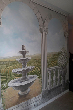Murals By Marg Tuscan Trompe L'oeil 4.JPG