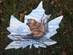 Murals By Marg __Canadian Beaver for Can