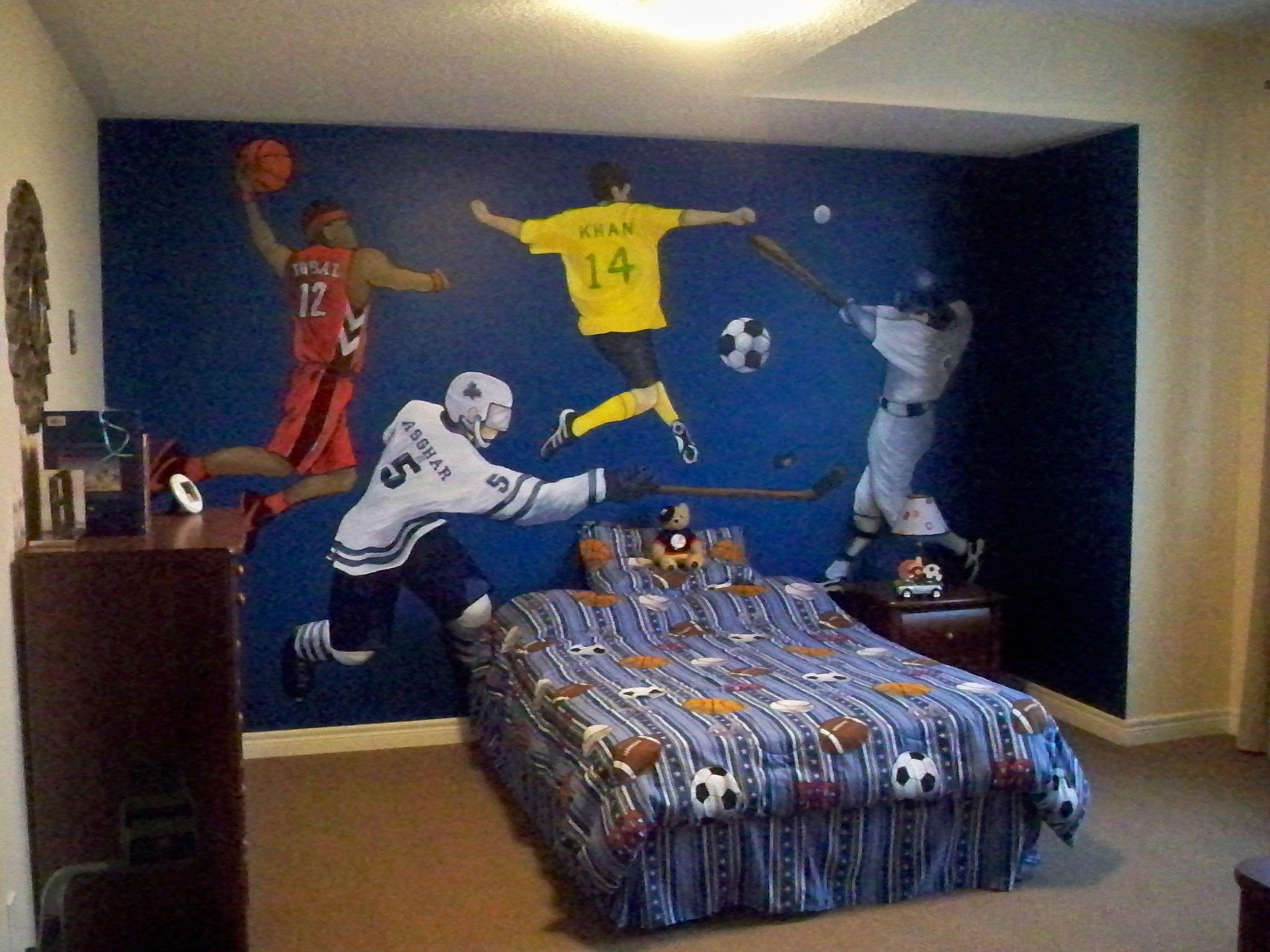 Murals By Marg Boys Sports Bedroom Mural 1.JPG
