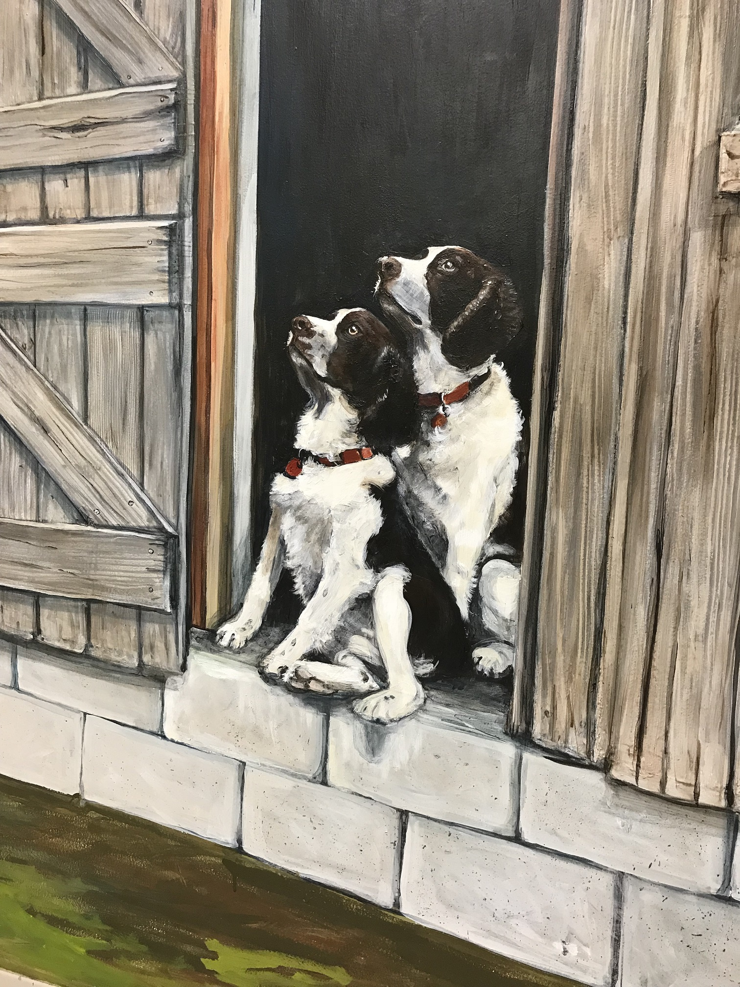 Murals By Marg -- Cargill Dog Portraits