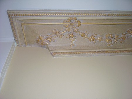 Murals By Marg Hand Painted Plaster Molding Gold 2.jpg