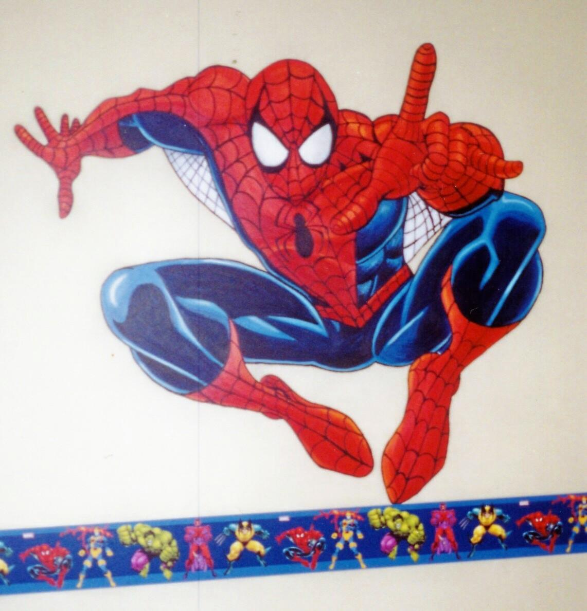 Murals By Marg Spiderman Mural.JPG