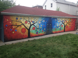 Murals By Marg Tes of Happiness 2015