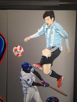 Murals By Marg Alex's Sports Locker 9