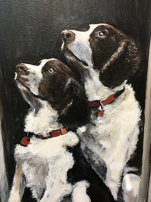 Murals By Marg -- Cargill Dog Portraits.