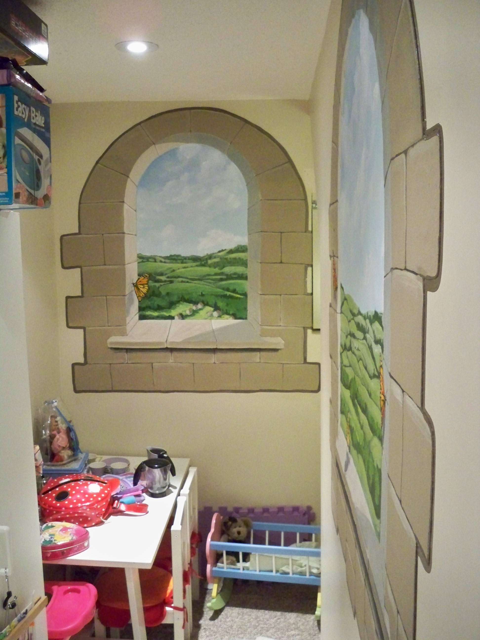 Murals By Marg Butterfly Playroom Mural 1.JPG