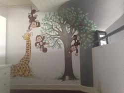 Murals By Marg Mini Monkey Nursery 6