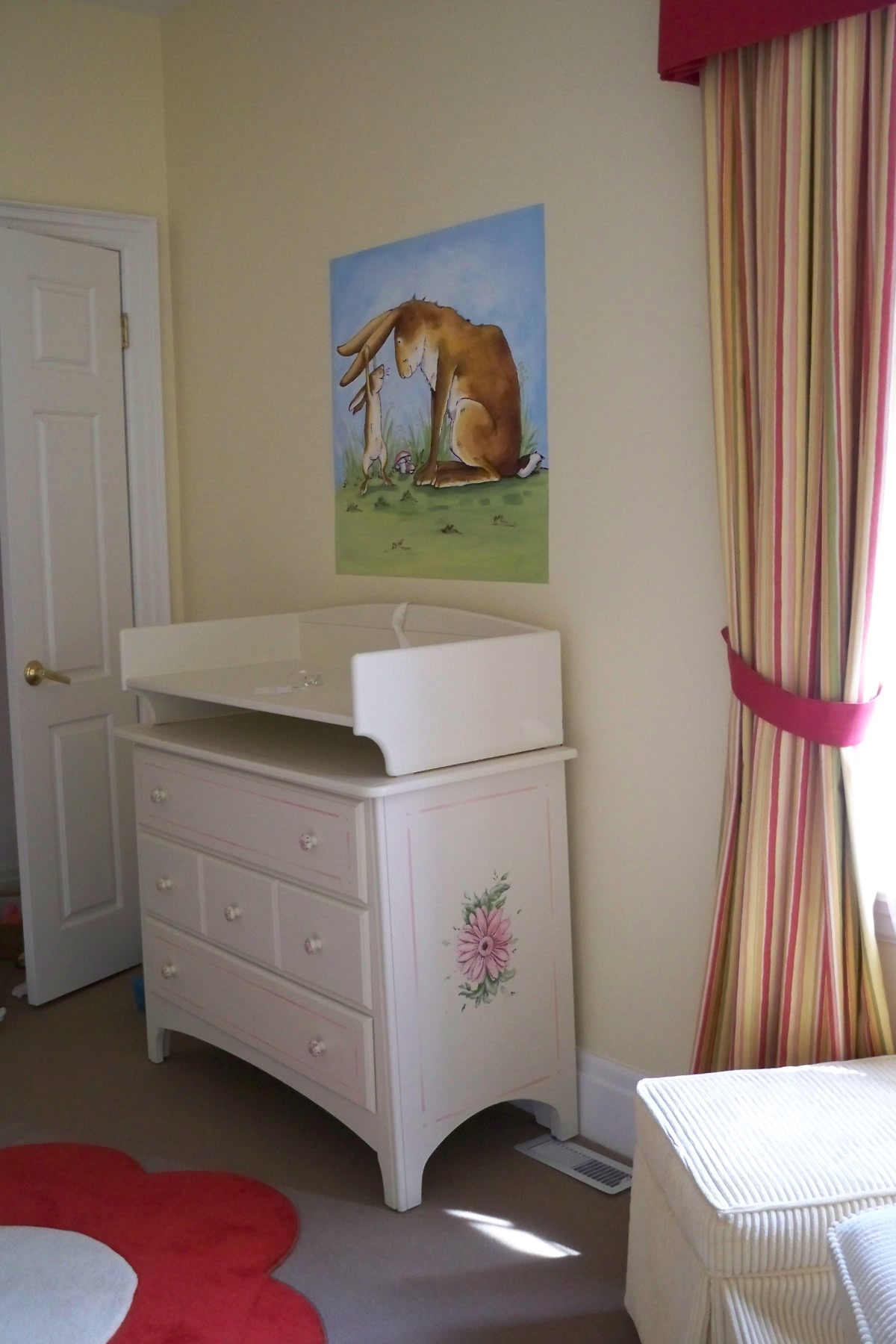 Murals By Marg Hand Painted Furniture Nusery changing table 1.jpg