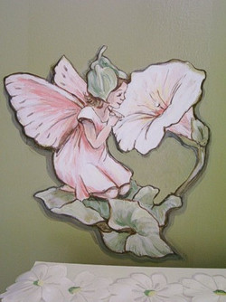 Murals By Marg Green  Room With Flower Fairies 7.JPG