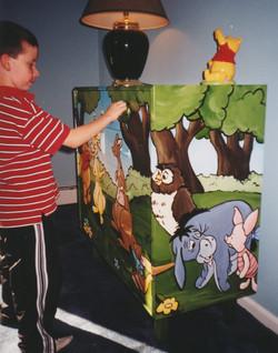 Murals By Marg  Winne the Pooh Armoire 2.jpg