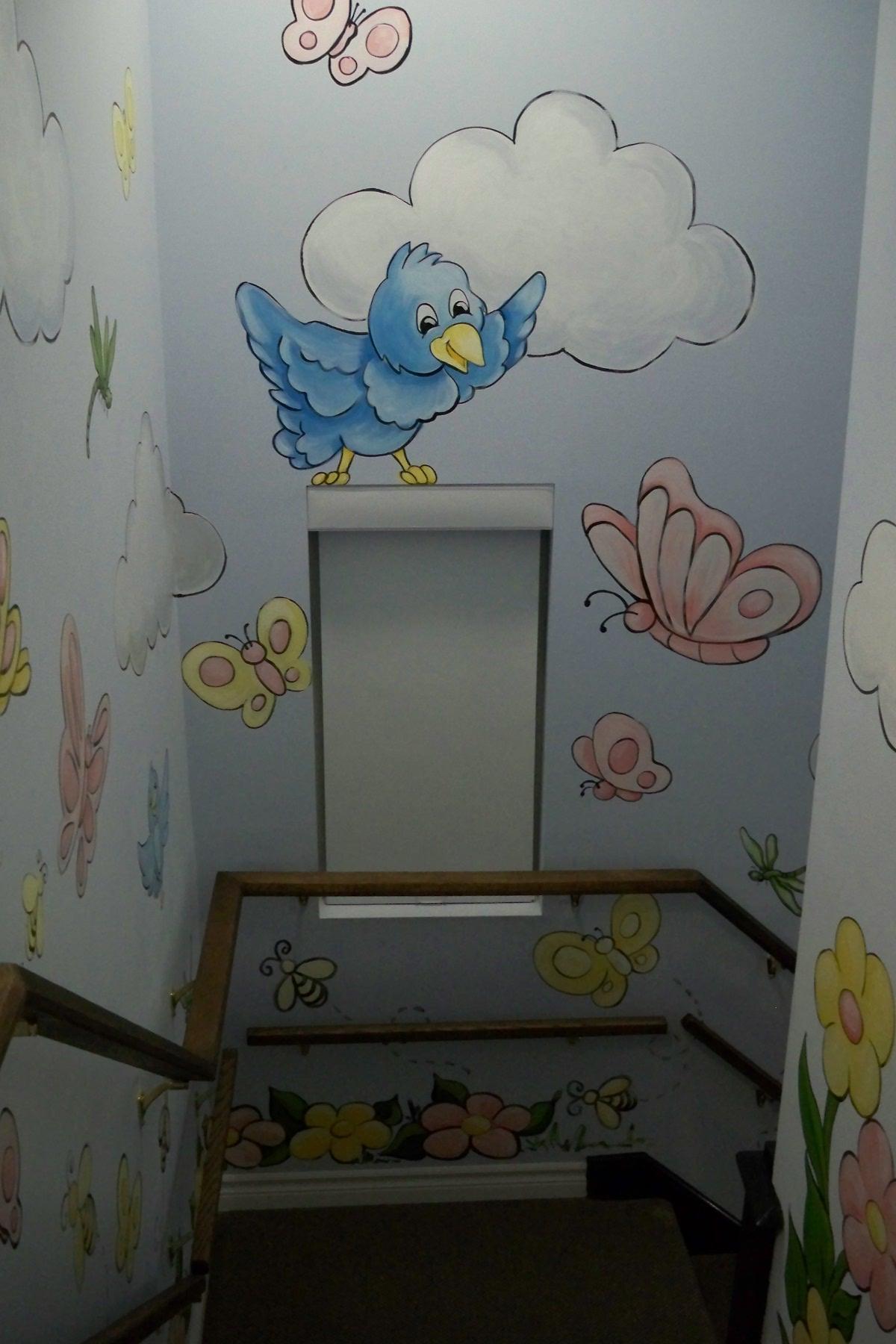 Murals By Marg TBA Staircase Mural 1.JPG