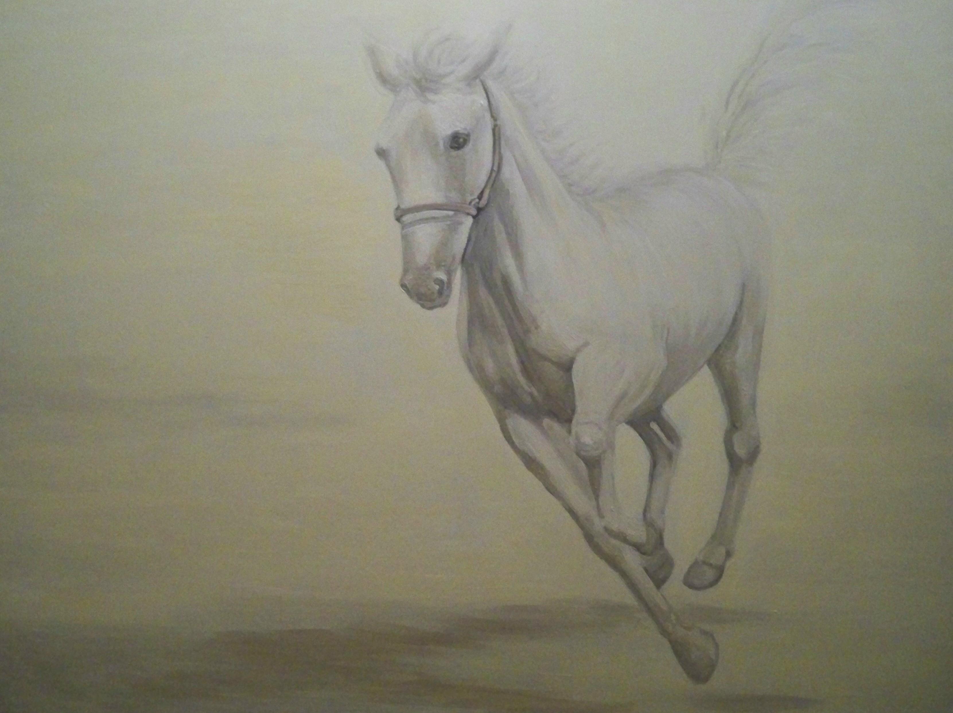 Murals By Marg white horse 2011.jpg