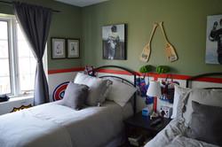 Murals By Marg -- boys hockey room 16