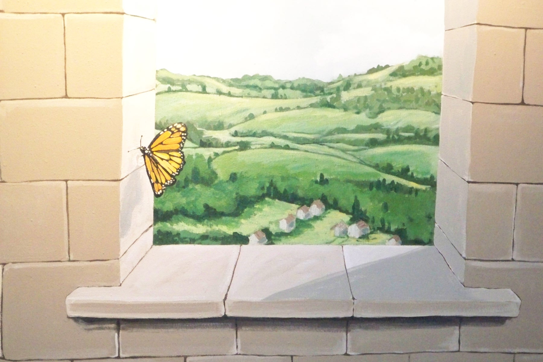 Murals By Marg Butterfly Playroom Mural 3.JPG