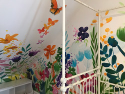 Murals By Marg - Spring Flowers Mural 4.