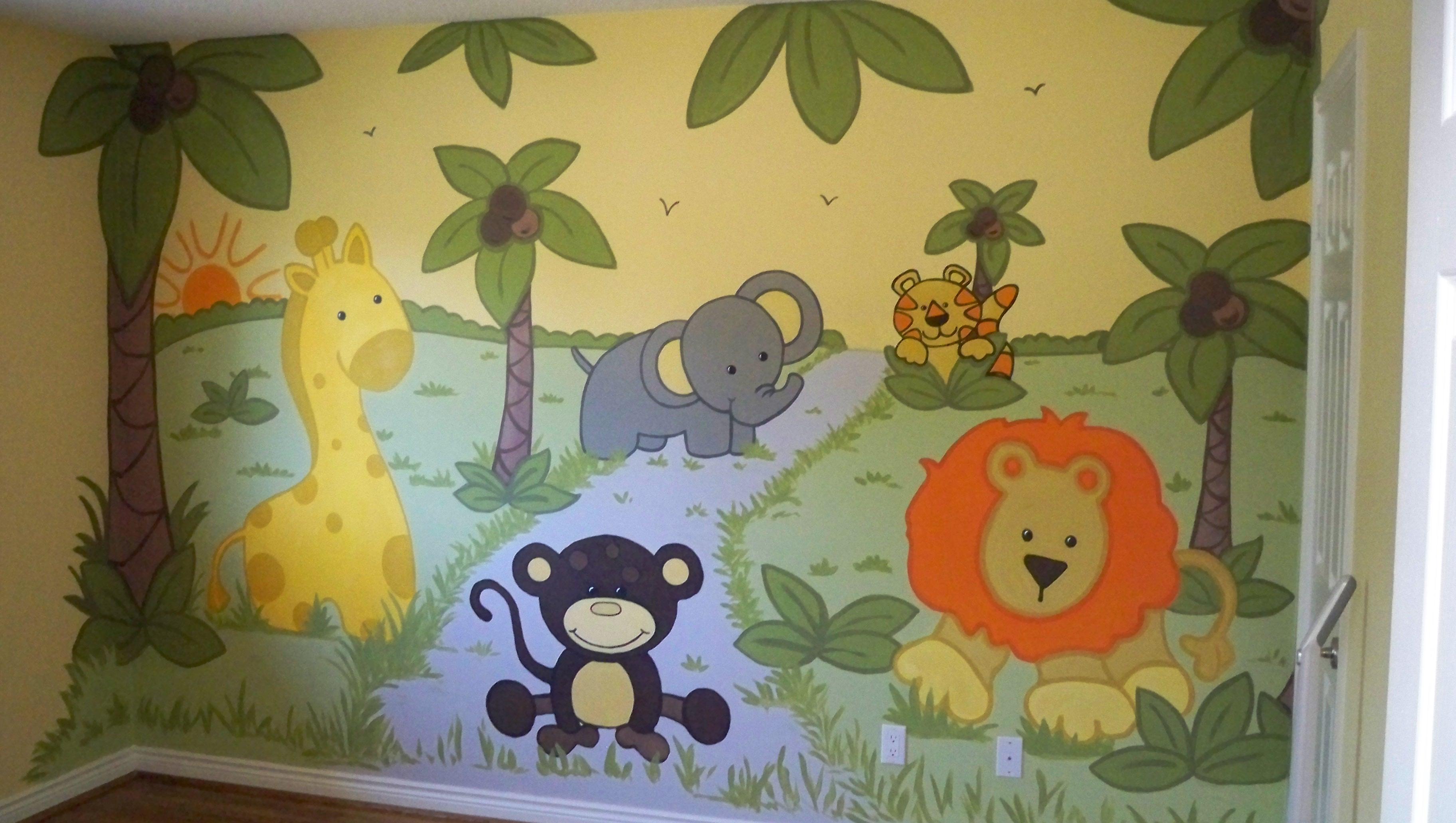 Murals By Marg Safari Nursery 1.JPG