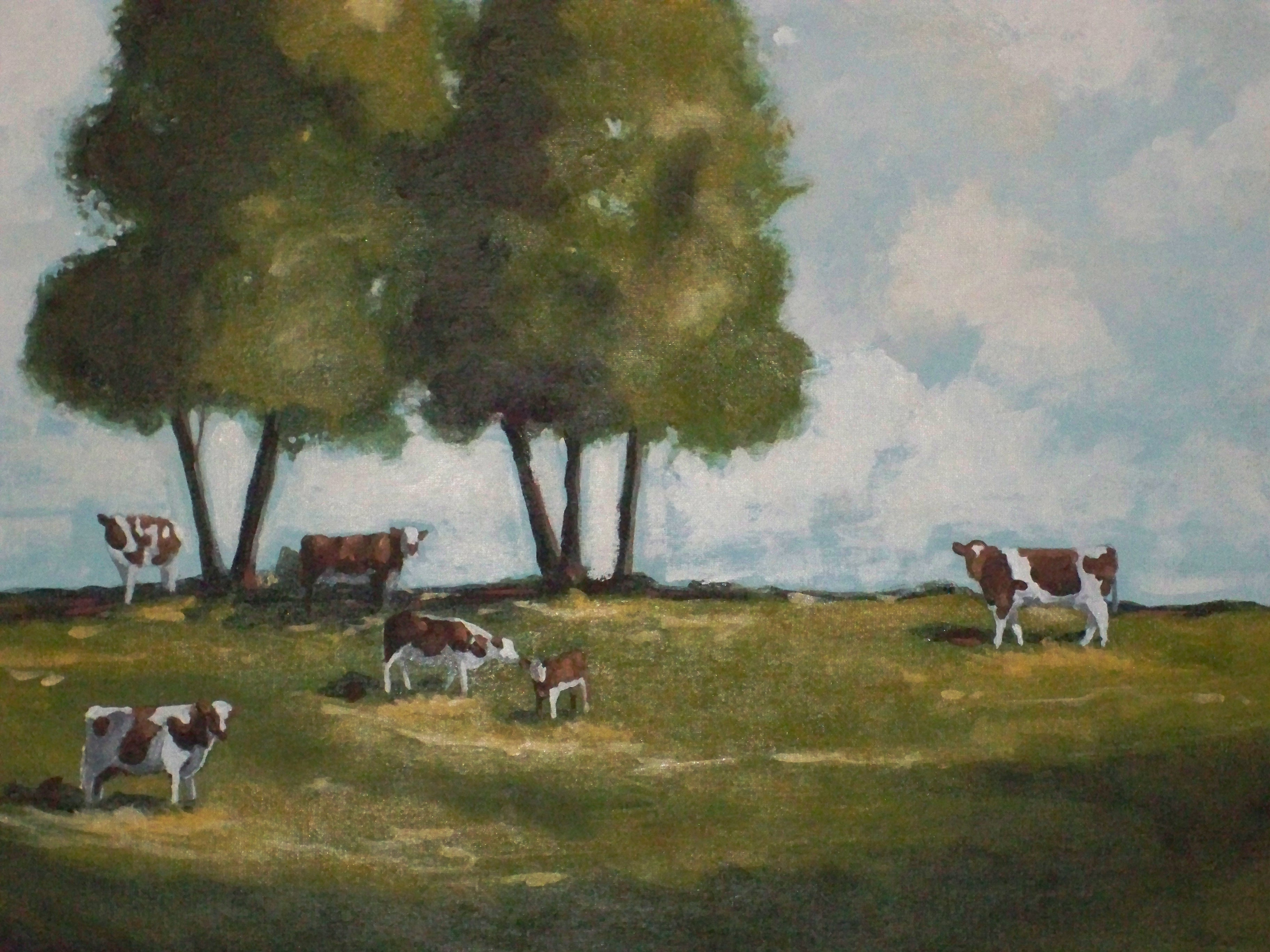 Murals By Marg Cows