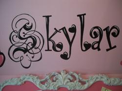Murals By Marg Girls Room Skylar 2012 2