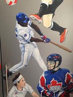 Murals By Marg Alex's Sports Locker 12