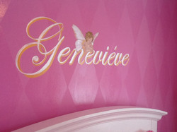Murals By Marg Girls Pink Room 2013 3.JPG