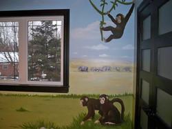 Murals By Marg Safari Mural 35