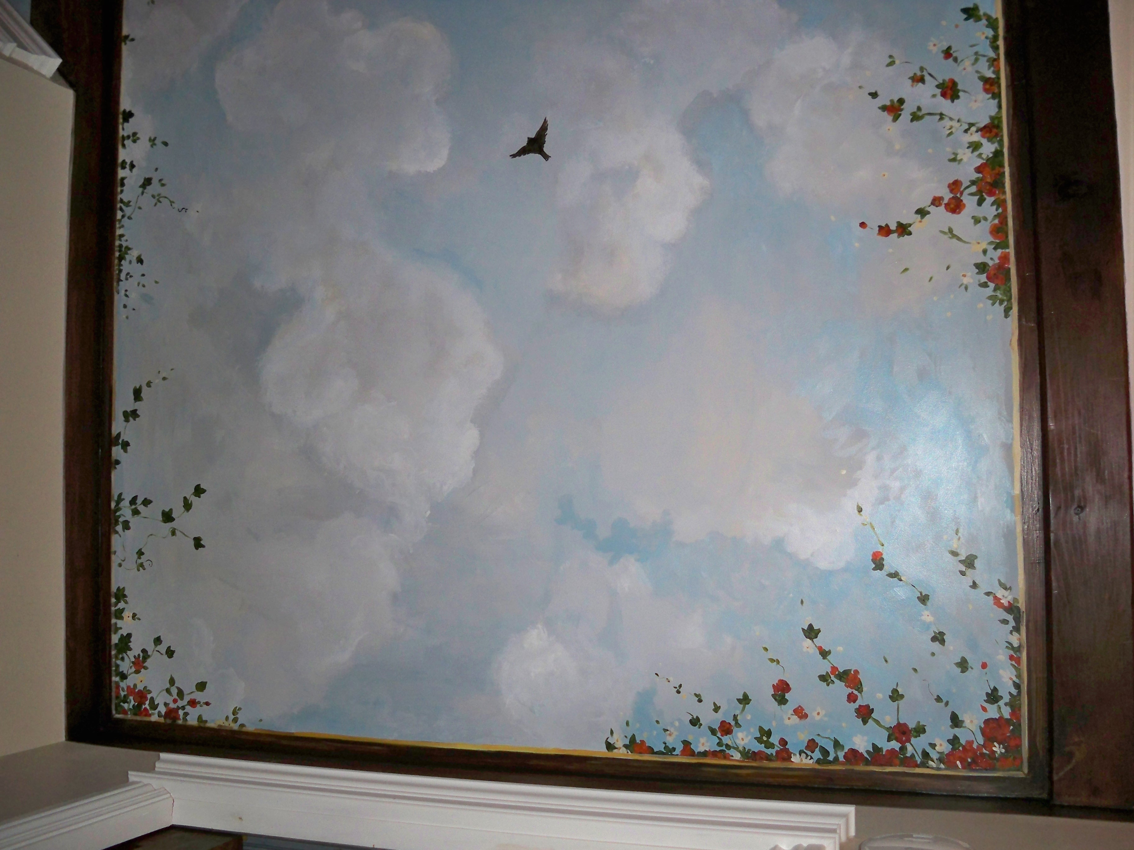 Murals By Marg Ceiling Mural 22