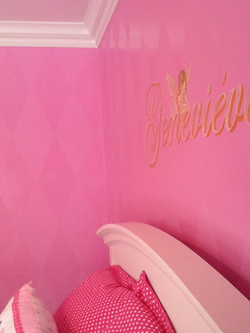 Murals By Marg Girls Pink Room 2013 4.JPG