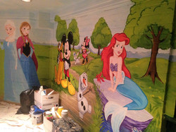 Murals By Marg Frozen Park Playroom Mural 10