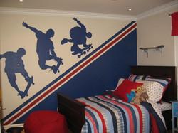 Murals By Marg Skateboard Room 1