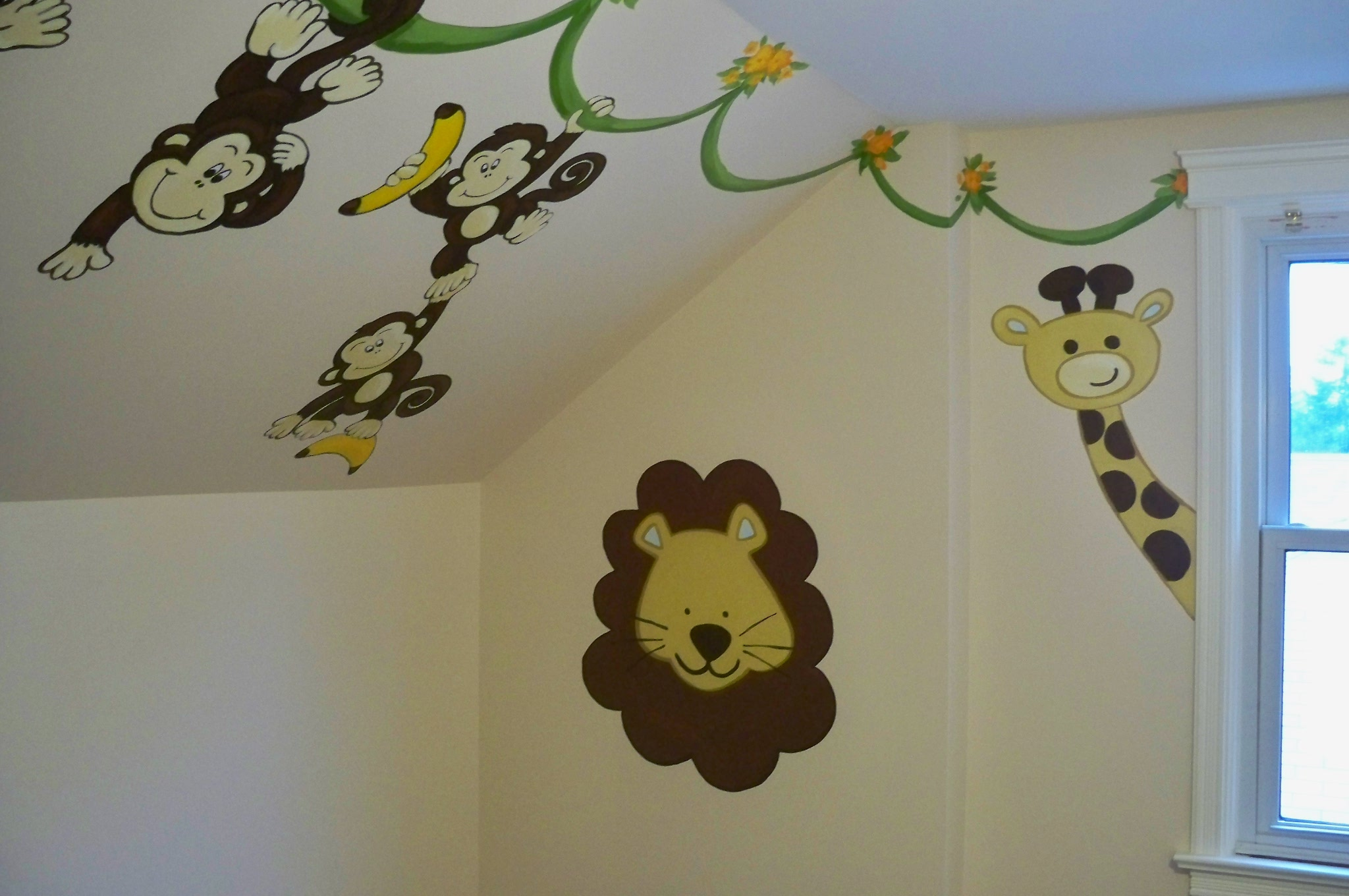 Murals By Marg Many Monkeys Nursery Mural 2.JPG