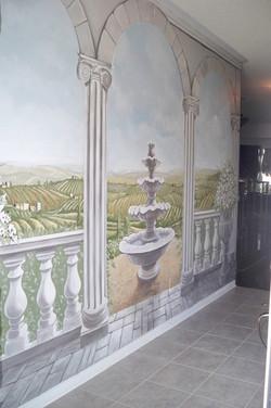 Murals By Marg Tuscan Trompe L'oeil 2.JPG