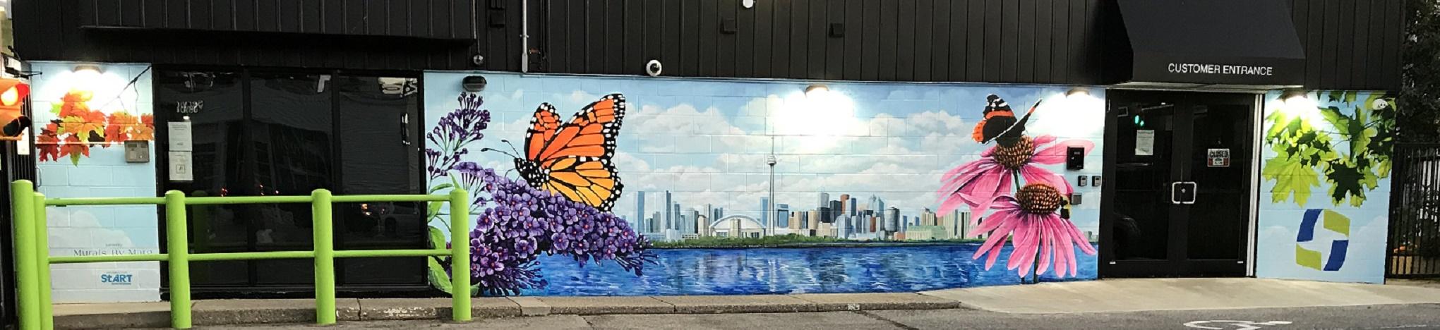 Murals By Marg Green Storage 2