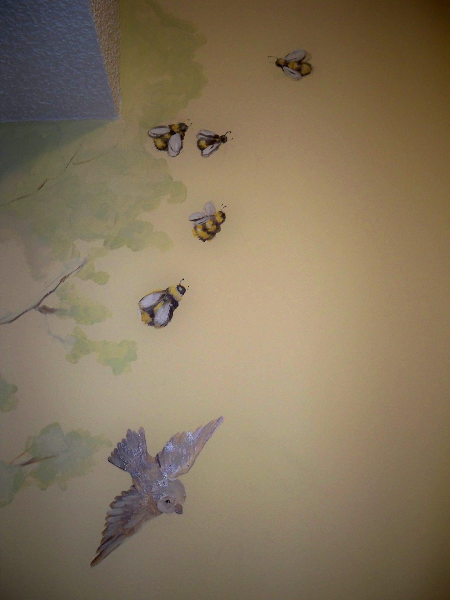 Murals By Marg Kayla's Nursery Mural 5