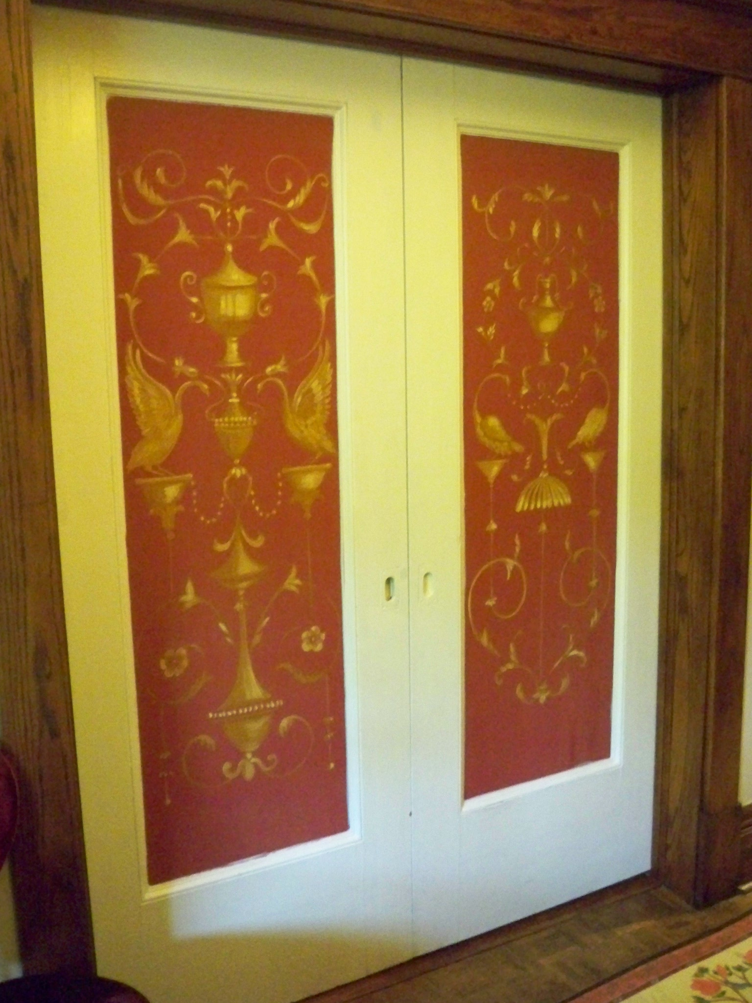 Tapestry Parlour Doors 2011