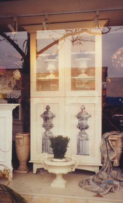 Murals By Marg Hand Painted Furniture Curio Cabinet 1.JPG