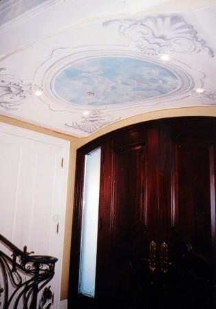 Murals ByMarg Foyer Ceiling Mural 1.JPG
