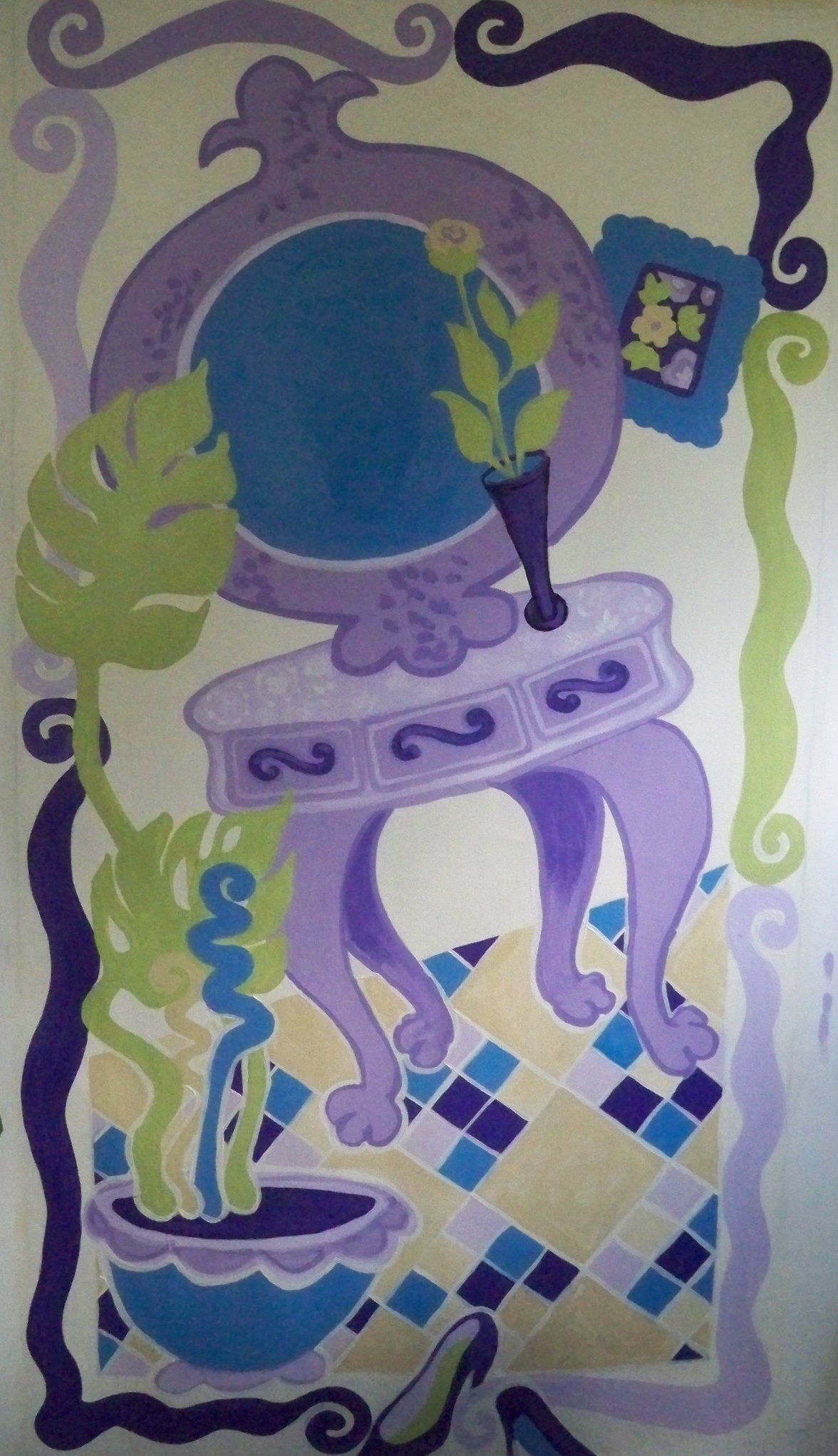 Murals By Marg girls room floormat.JPG