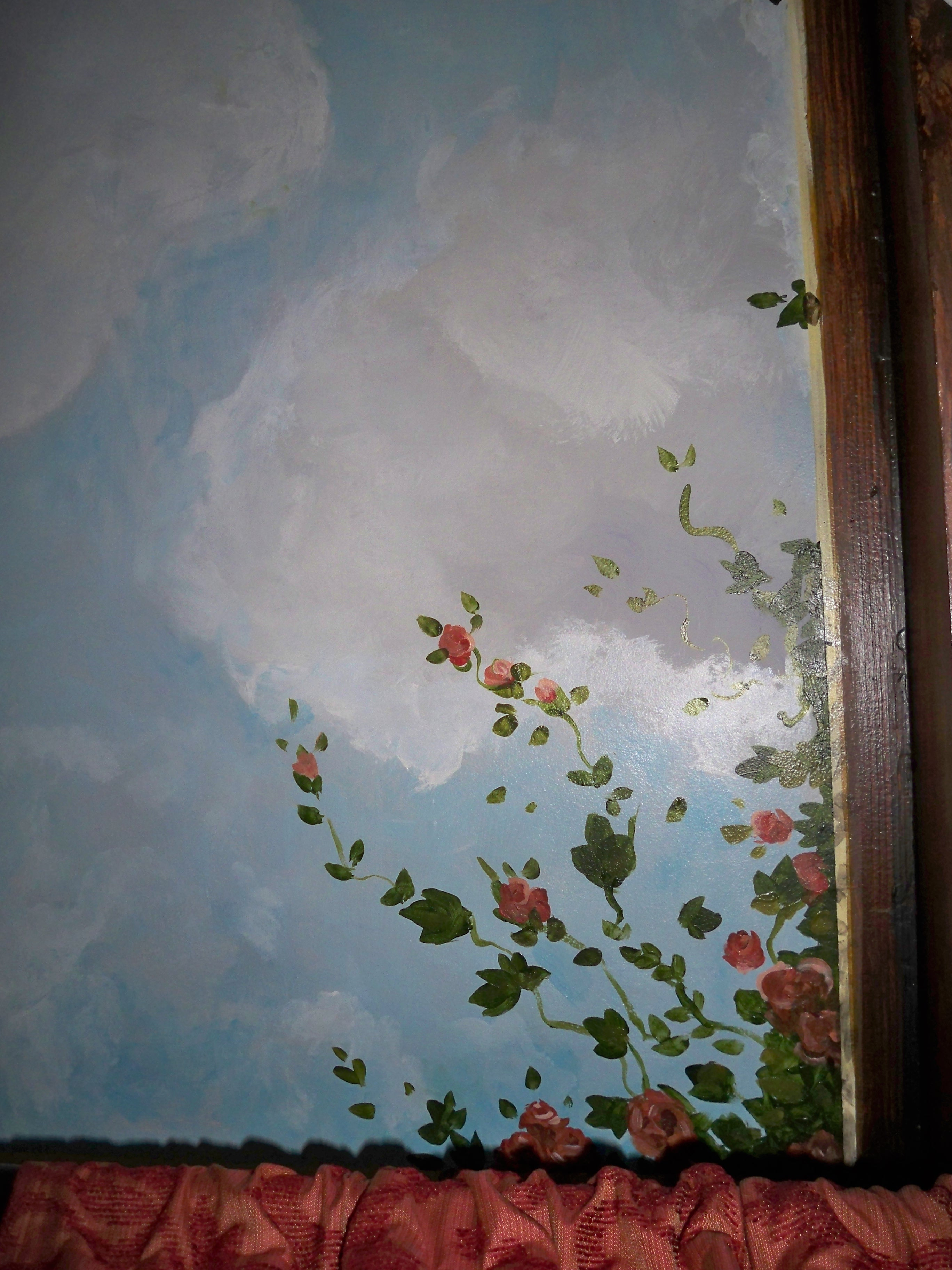 Murals By Marg Ceiling Mural 28