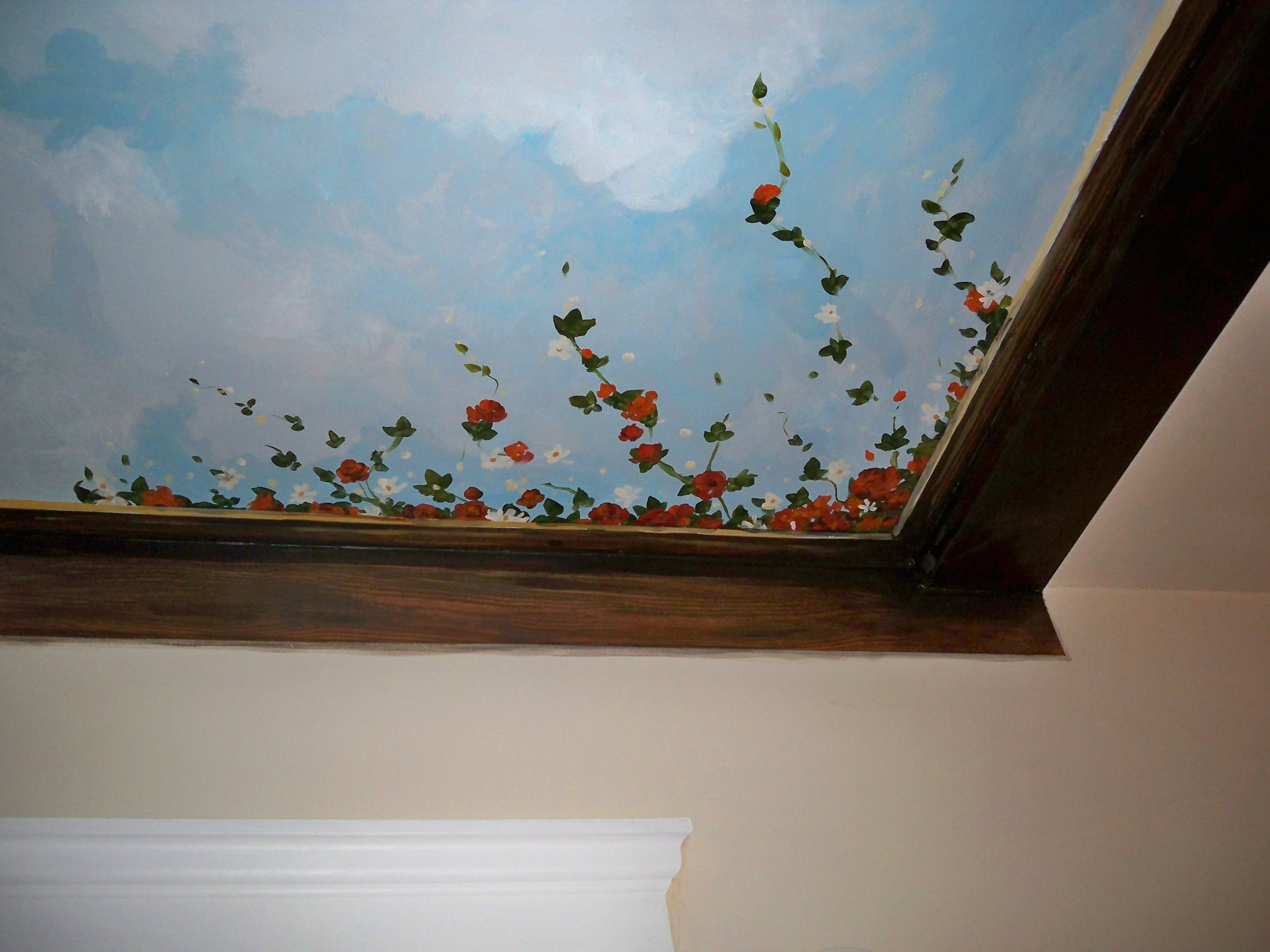 Murals By Marg Ceiling Mural 32