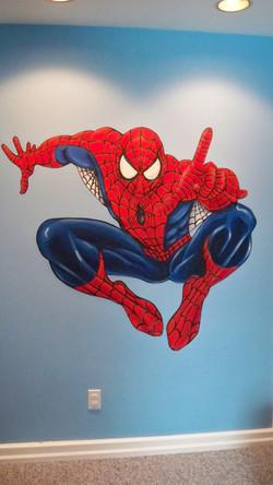 Murals By Marg Spiderman 2 Mural.JPG
