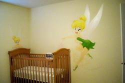 Murals By Marg TinkerBell Nursery Mural 1.JPG
