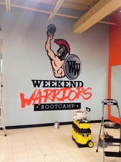 Murals By Marg -- Weekend Warriors