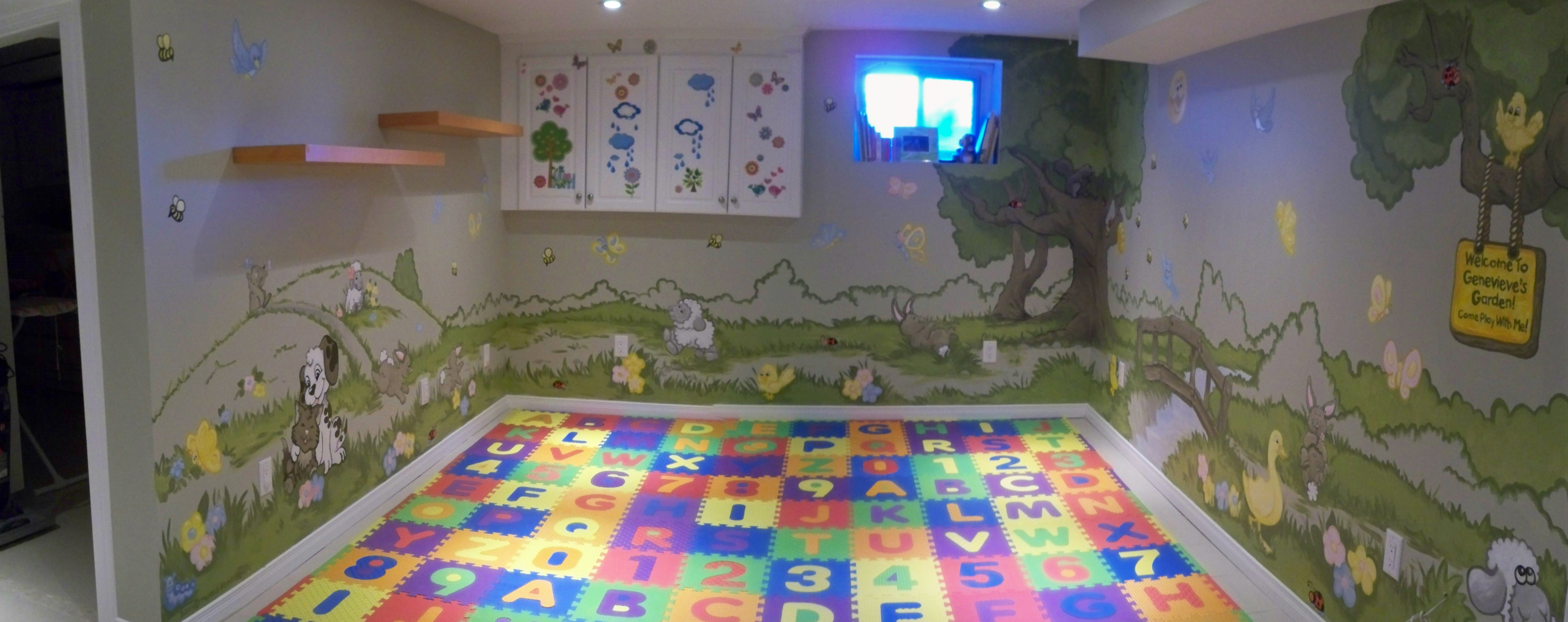 Murals By Marg Genevieve's Playroom Mural 1.JPG
