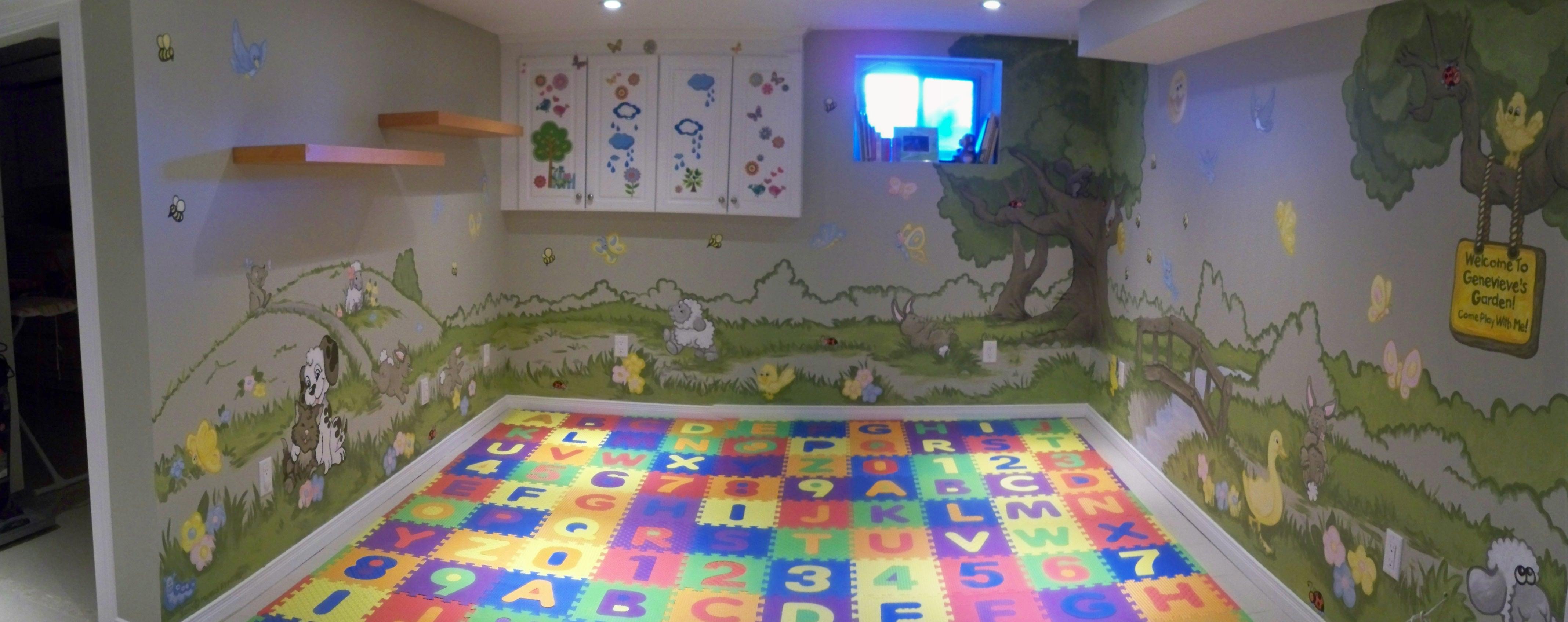 Murals By Marg Genevieve's Playroom Mural 1.JPG