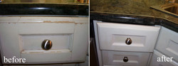 Murals By Marg Before and After Kitchen Cabinets Repair.jpg