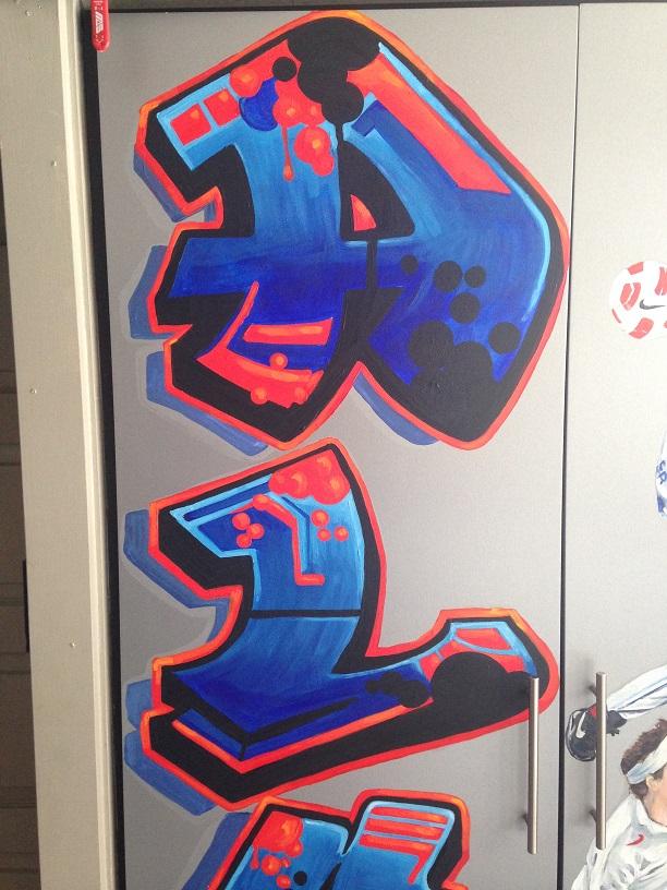 Murals By Marg Alex's Sports Locker 7