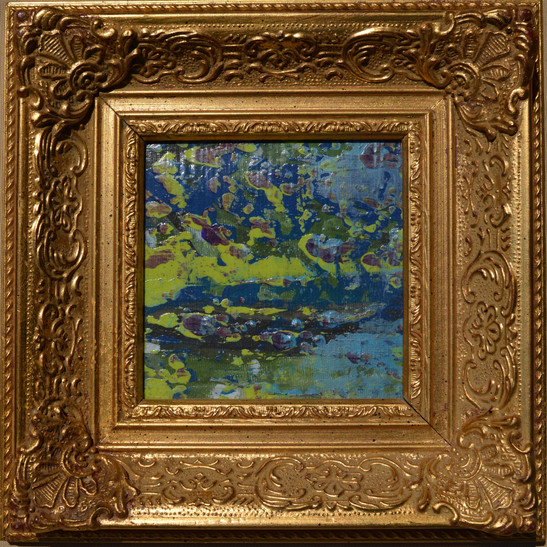 Margaret Cresswell Landscape Abstract 2.